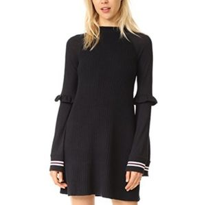 Free People Zou Bisou Bell Sleeve Sweater Dress S
